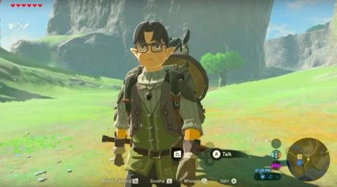 Zelda Breath of the Wild - Satoru Iwata