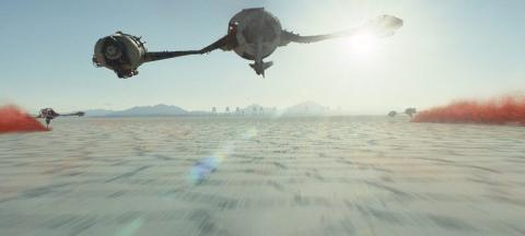 Star Wars, Últimos Jedi, Planeta desierto
