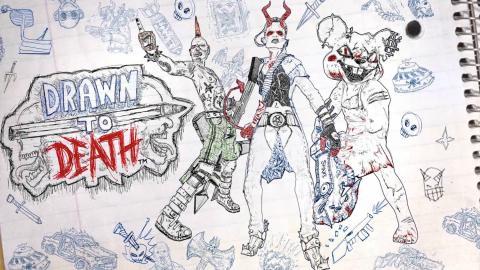 Drawn to Death portada