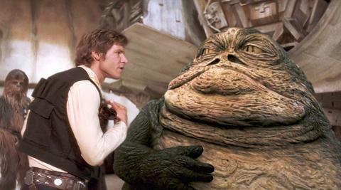 Guillermo del Toro quiere rodar una película de Jabba el Hutt