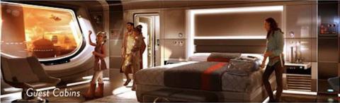 Imagen conceptual del resort de Star Wars
