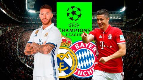 Madrid Bayern Champions