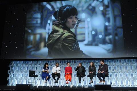 Episodio VIII, Star Wars Celebration , 2017