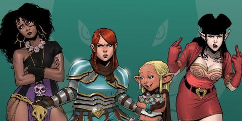 Rat Queens es uno de los grandes cómics del panorama actual. Norma editorial ha publicado en España finalmente su primer volumen, titulado Descaro y Brujería. Esta es la review de su primer tomo.