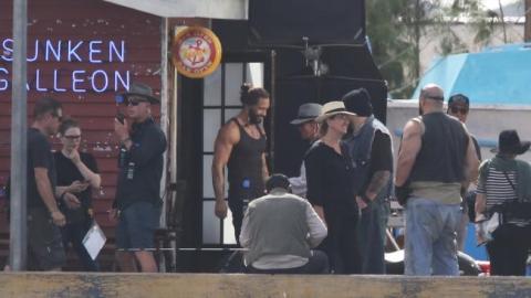 Aquaman - Primeras imágenes del set de rodaje