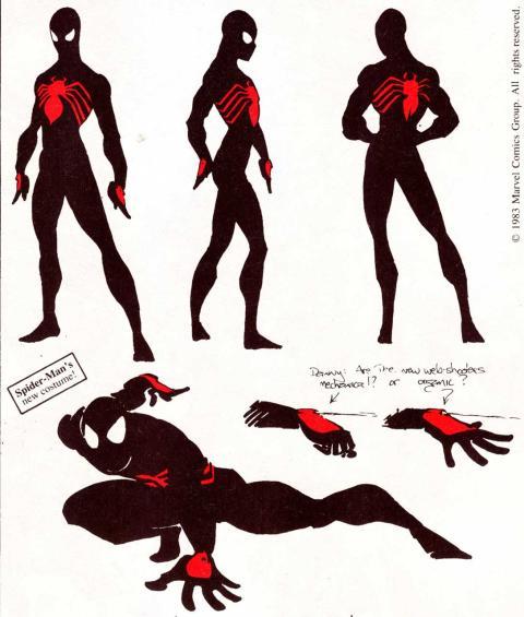 Historia editorial de Venom