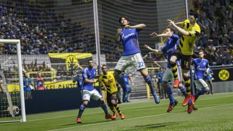 FIFA 17 remates cabeza