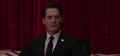 red room, Kyle MacLachlan, Dale Cooper