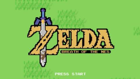Zelda Breath of the NES