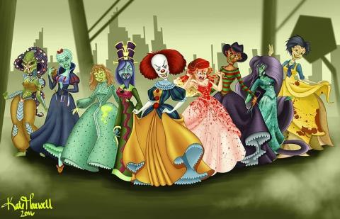 Monstruosas Princesas Disney