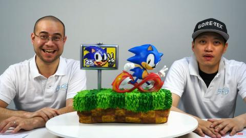 Sonic the Hedgehog - La alucinante estatua del erizo azul de SEGA por su 25 aniversario