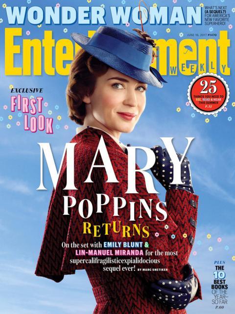 El regreso de Mary Poppins - Imágenes oficiales de la película