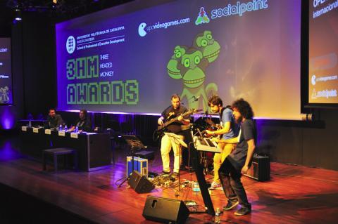 Evento Three Headed Monkey Award de la UPC