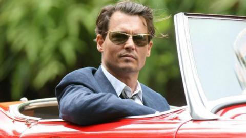 Los coches de Johnny Depp, un pirata del asfalto