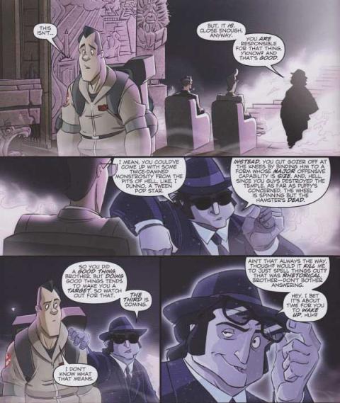Cazafantasmas: El Hombre del Espejo - Review
