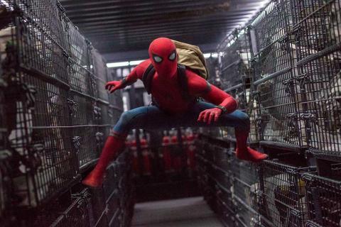 Imágenes del rodaje de Spider-Man: Homecoming