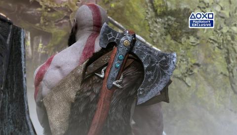 God of War Kratos espadas del caos