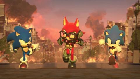 Sonic Forces - Editor de personajes