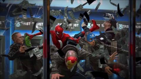 Spider-Man: Homecoming - Arte conceptual de las batallas