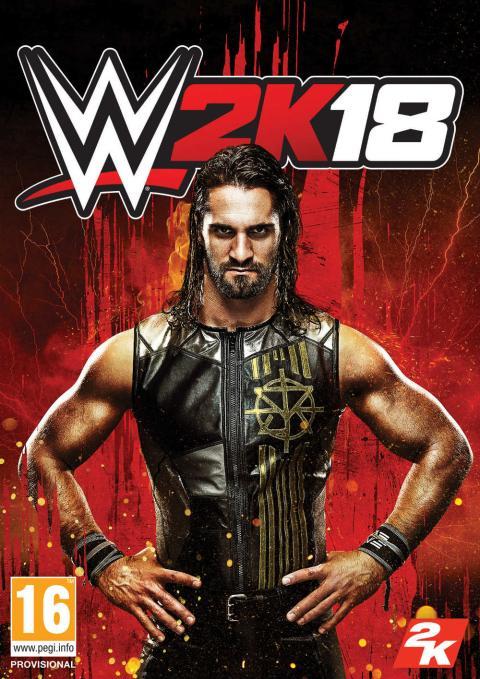 WWE 2K18 - Seth Rollins en la portada