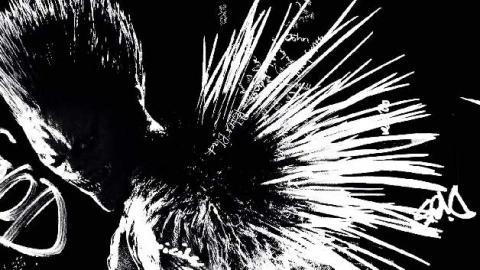 Death Note - Williem Dafoe como Ryuk
