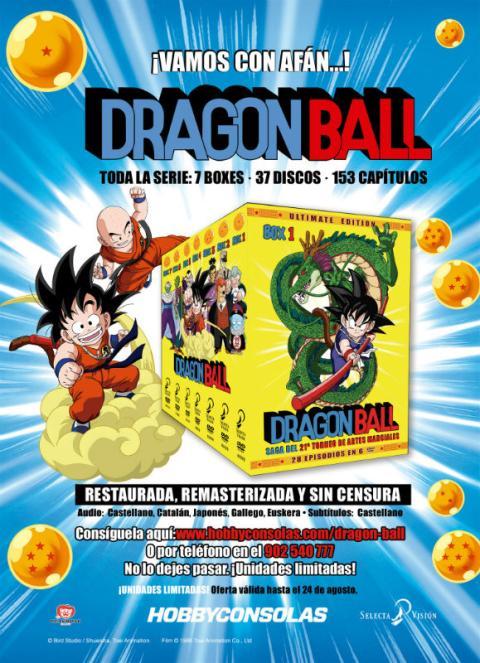 Dragon Ball DVD