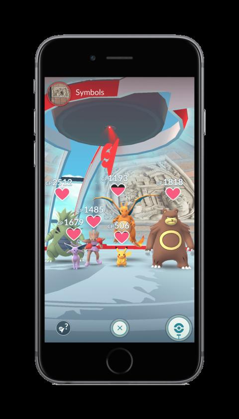 Pokémon Go - Nueva Actualización