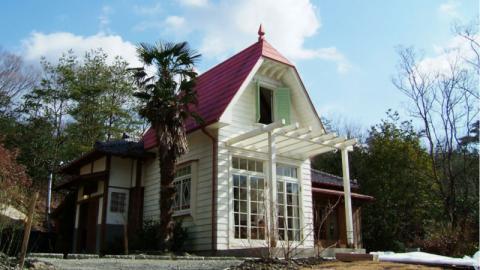 Recreación de la casa de Satsuki y Mei (Mi vecino Totoro)