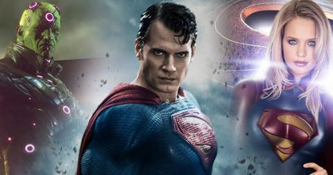 Superman, Supergirl, Brainiac