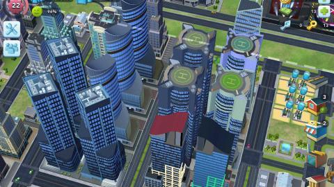 SimCity BuildIt - Cómo hacer y construir rascacielos