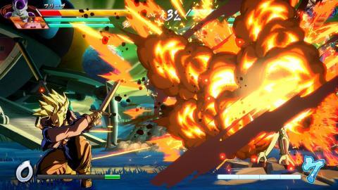 Trunks del Futuro en Dragon Ball FighterZ