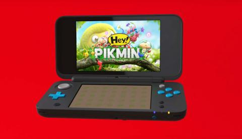New Nintendo 2DS XL + Hey! Pikmin