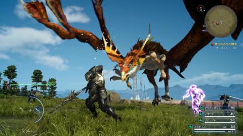 Final Fantasy XV actualización de julio