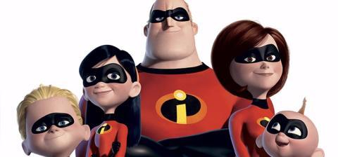 Pixar, Animación, Mr. Incredible