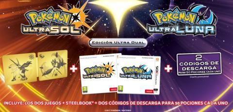 Pokémon Ultrasol y Pokémon Ultraluna - Edición Ultra Dual
