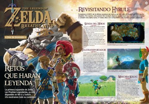 Reportaje DLC Zelda