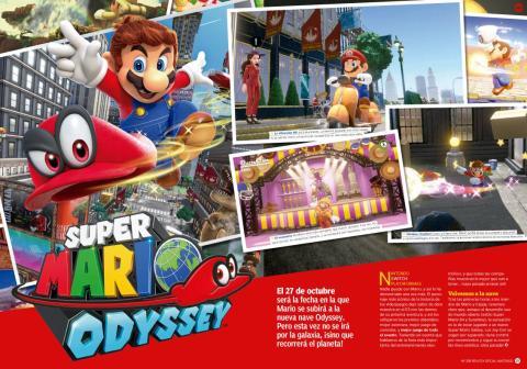 Reportaje Mario Odyssey
