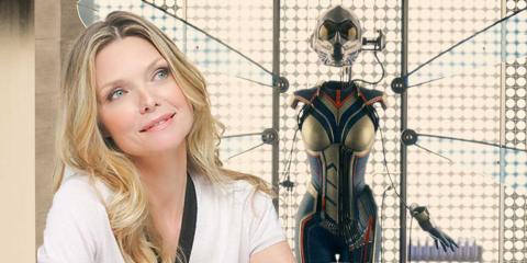 SDCC 2017: Michelle Pfieffer estará en Ant-Man y La Avispa