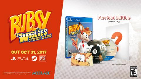Bubsy The Woolies Strike Back para PS4 y PC