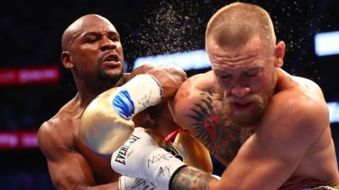 Boxeo, Las Vegas, combate
