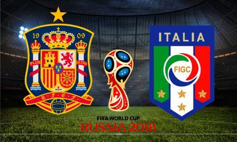 Fútbol España-Italia