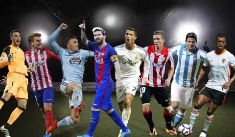 Jugadores Liga Santander