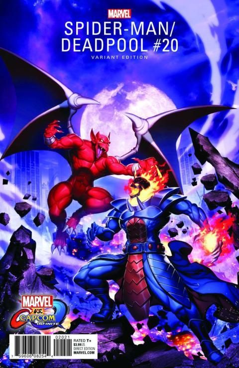 Marvel vs Capcom Infinite - Dormammu y Firebrand