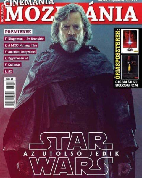 Portada Star Wars: Los últimos Jedi - Luke Skywalker
