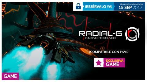 Radial-G en GAME
