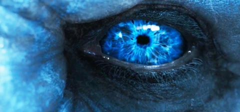 ojo, juego de tronos, caminante blanco
