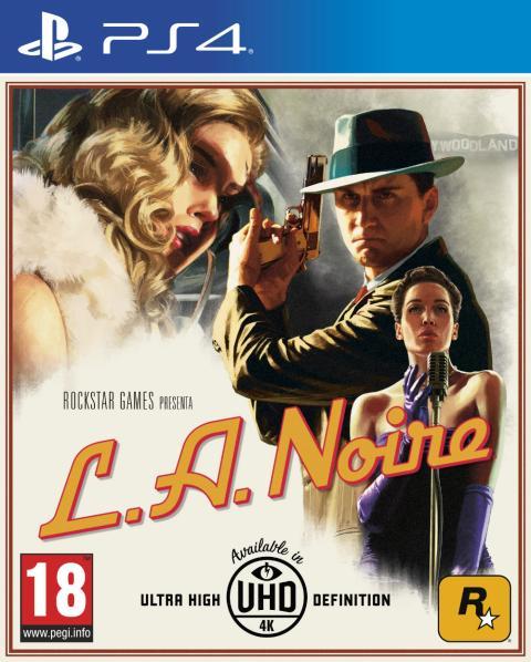 Carátula de L.A. Noire para PS4