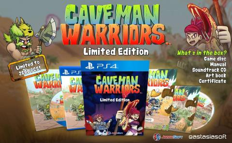 Caveman Warriors Limited Edition