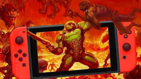 Comparativa DOOM Switch vs PS4