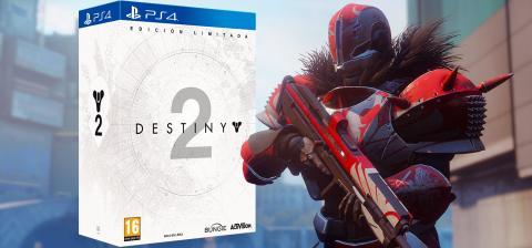 Concurso Destiny 2 edición limitada PS4